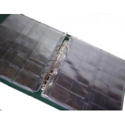 Альбом вертикальный 230х270 мм, бумвинил, лист скользящий