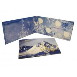 Буклет под 25 рублёвые монеты и банкноту «Сочи 2014» на 4 шт.