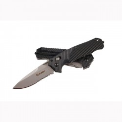 Складной нож Ganzo G716, полусеррейтор
