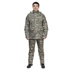 Мужской костюм Биостоп ХБР (зеленый камуфляж)