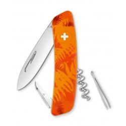 Нож перочинный SWIZA С03, филикс, оранжевый