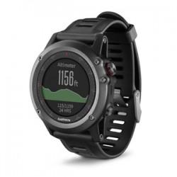 Спортивные часы FENIX 3 HRM серый с черным ремешком и пульсометром