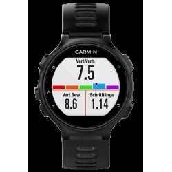 Спортивные часы FORERUNNER 735 XT черно-серые